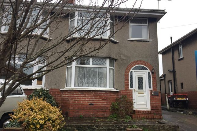 Thumbnail Semi-detached house to rent in Grittleton Road, Bristol, Gloucestershire