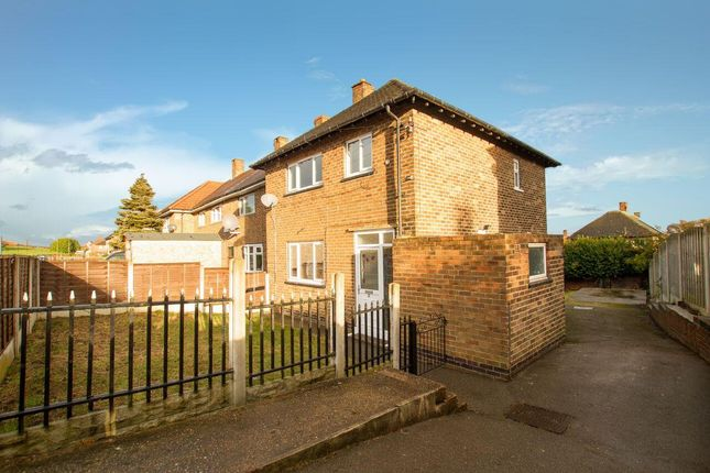 Thumbnail End terrace house for sale in Manor Park Road, Sheffield
