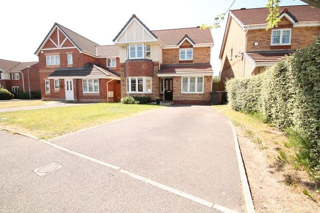 Thumbnail Detached house to rent in Townsgate Way, Irlam, Manchester