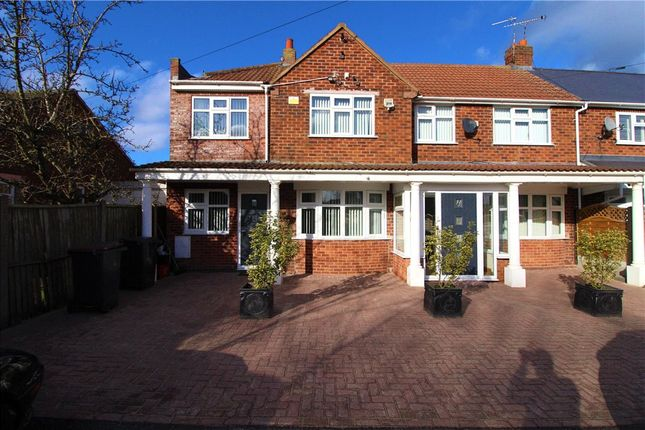 Thumbnail Semi-detached house for sale in Hinckley Road, Horestone Grange, Nuneaton, Warwickshire