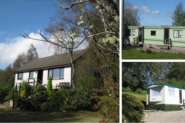 Thumbnail Bungalow for sale in Dalilea Holiday Caravans And Owners Bungalow, Acharacle, Argyll