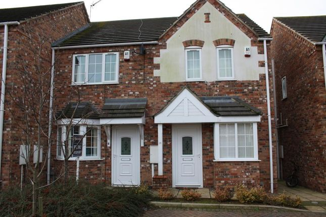 Thumbnail Semi-detached house to rent in The Creamery, Sleaford, Lincolnshire