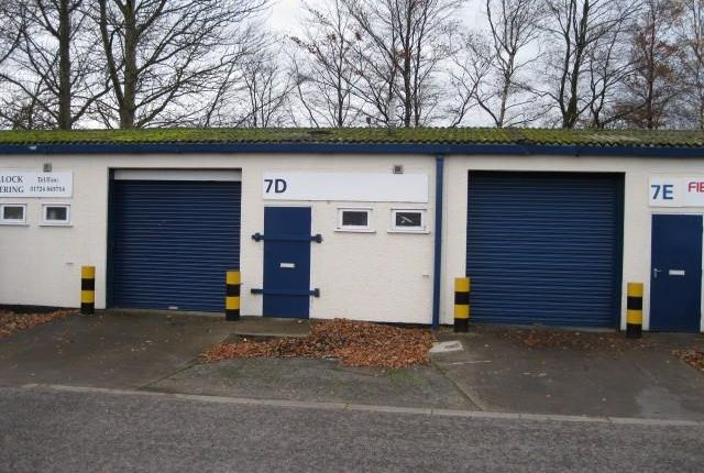 Thumbnail Light industrial to let in Unit 7D, Lake Enterprise Park, Birkdale Road, South Park Industrial Estate, Scunthorpe, North Lincolnshire