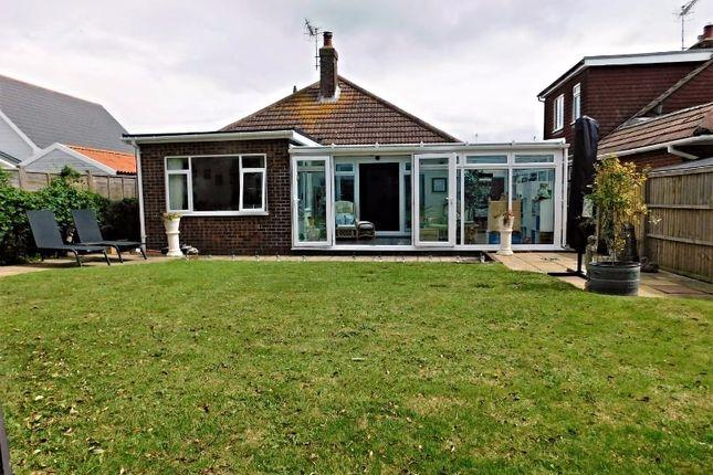 Thumbnail Detached bungalow for sale in Capel Avenue, Peacehaven