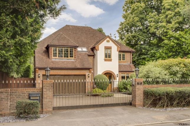 Thumbnail Detached house for sale in Wycombe Road, Prestwood