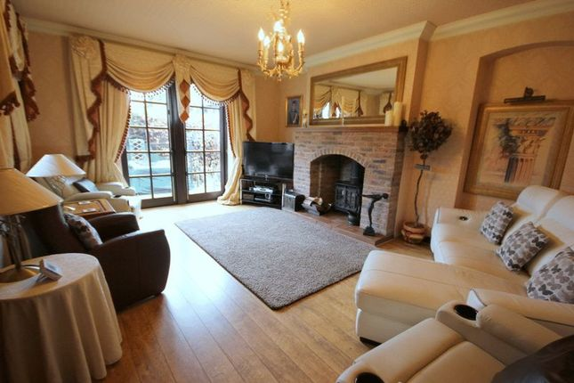 Thumbnail Detached house for sale in Park Drive, Trentham, Stoke-On-Trent