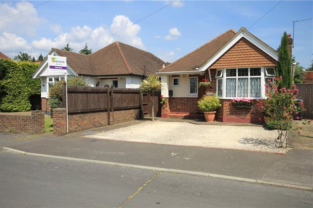 Thumbnail Detached bungalow for sale in Dudley Close, Addlestone, Surrey