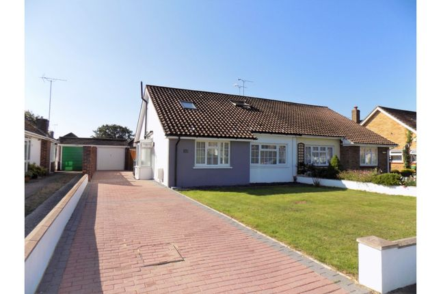 Thumbnail Semi-detached bungalow for sale in Singleton Crescent, Worthing