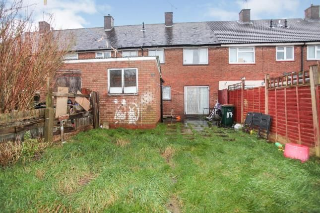 Rear Garden of Proffitt Avenue, Courthouse Green, Coventry, West Midlands CV6