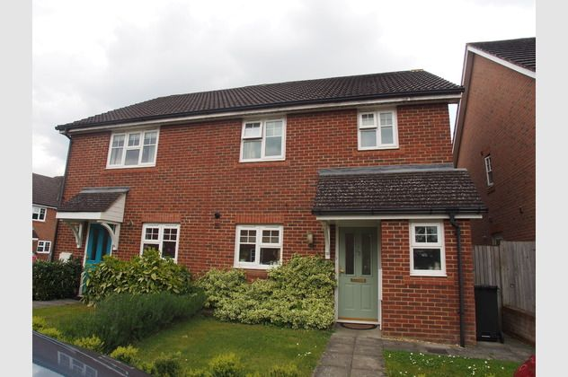 Thumbnail Semi-detached house for sale in Bufton Field, North Warnborough, Hook, Hampshire