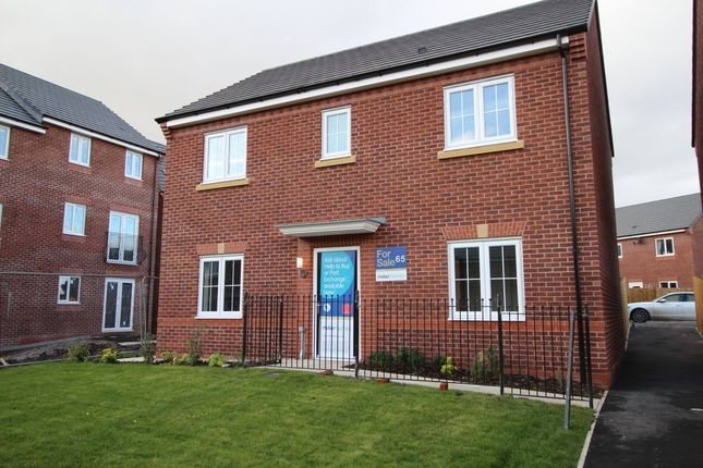 Thumbnail Detached house for sale in The Buchan Smethurst Road, Billinge, Wigan