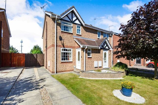 Thumbnail Semi-detached house for sale in Whitethorn Way, Hull