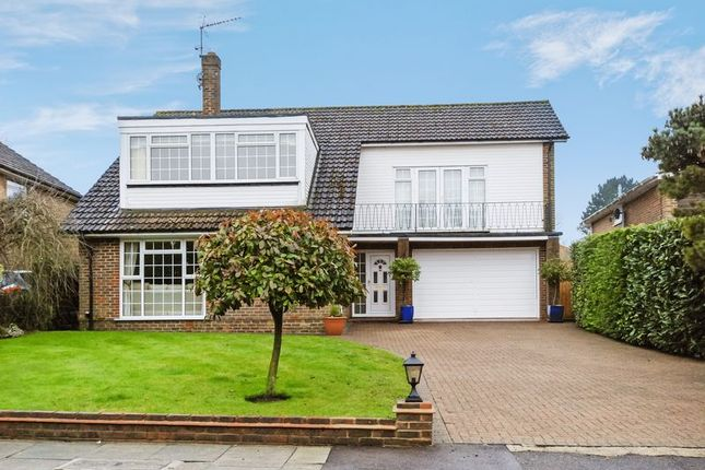 Thumbnail Detached house for sale in Brimstone Close, Chelsfield, Orpington