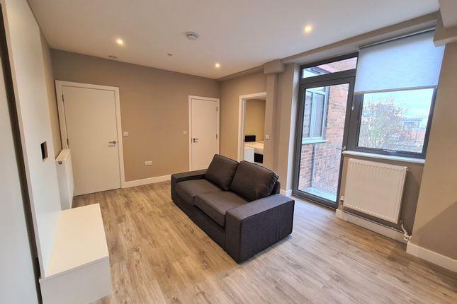 Thumbnail 1 bed flat to rent in Flat 6, 19-23 Exchange Road, Watford