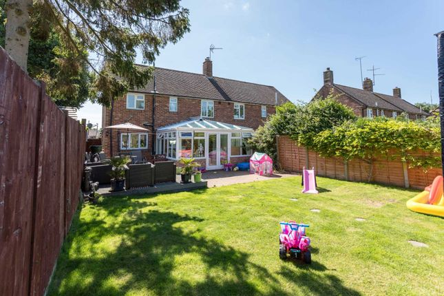 Thumbnail Semi-detached house for sale in The Hordens, Barns Green, Horsham
