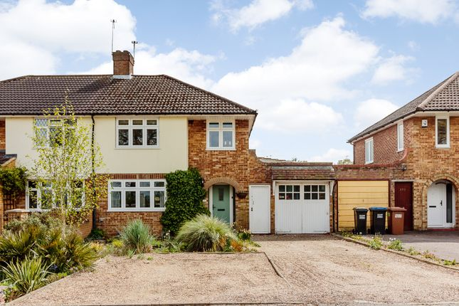 Thumbnail Semi-detached house for sale in St Albans Road West, Hatfield, Hertfordshire