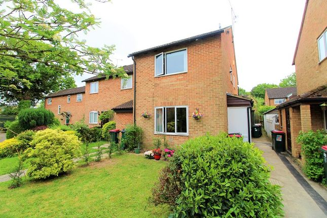 Thumbnail End terrace house for sale in Buchans Lawn, Crawley, West Sussex.