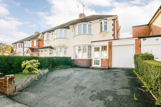 3 bed semi-detached house for sale in Valley Road, Solihull, West Midlands