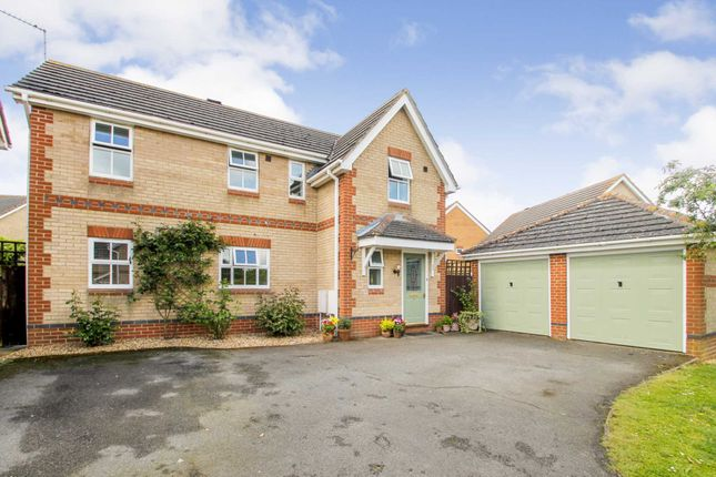 Thumbnail Detached house for sale in Wetenhall Road, Stanwick, Wellingborough