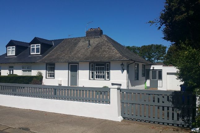 Thumbnail Bungalow for sale in Darley Place, Troon, South Ayrshire