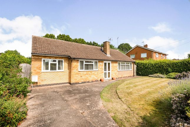 Thumbnail Detached bungalow for sale in Mountford Close, Wellesbourne, Warwick
