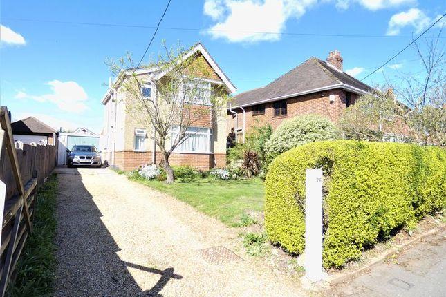 Thumbnail Detached house for sale in Beaulieu Road, Hamble, Southampton