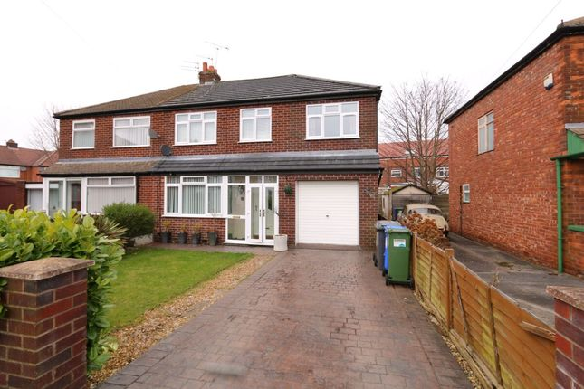 Thumbnail Semi-detached house for sale in David Street, Denton, Manchester