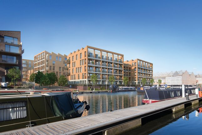 Thumbnail Flat for sale in Brentford Lock West, Durham Wharf Drive, Brentford, London