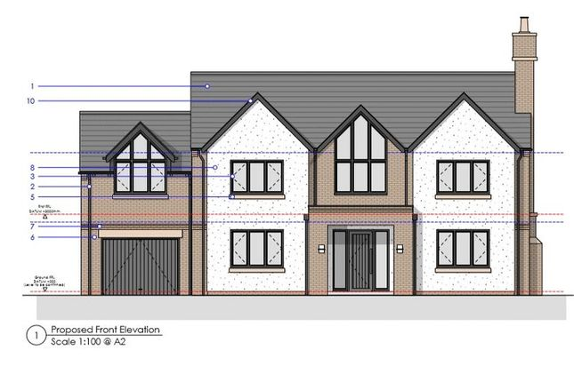 Thumbnail Land for sale in Croft Drive, Caldy, Wirral