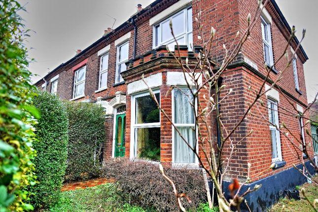 Thumbnail End terrace house for sale in Aylsham Road, Norwich
