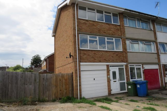 Thumbnail End terrace house to rent in Millfield, Sittingbourne
