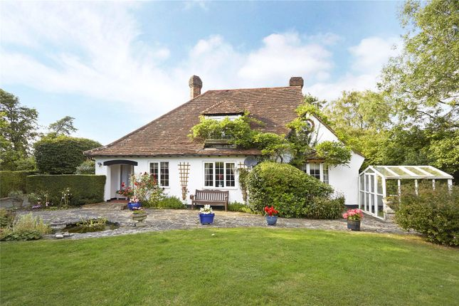 Thumbnail Detached house for sale in Collendean Lane, Norwood, Horley, Surrey