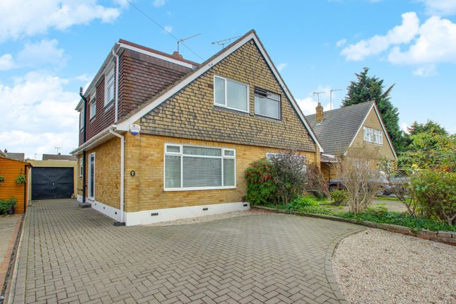 Thumbnail Semi-detached house for sale in Mandeville Way, Benfleet