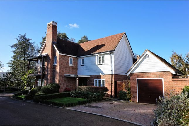 Thumbnail Detached house for sale in Foxtails, Fleet