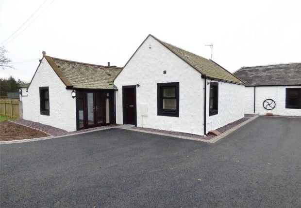 Thumbnail Semi-detached bungalow for sale in 1 Dinwoodie Courtyard, Johnstonebridge, Lockerbie, Dumfries And Galloway
