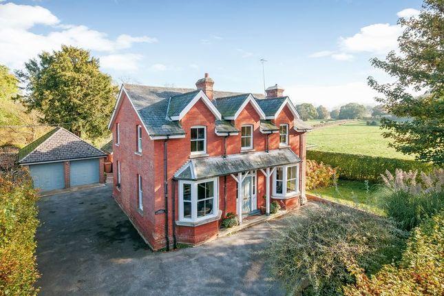 Thumbnail Detached house for sale in Romsey Road, Lockerley, Romsey