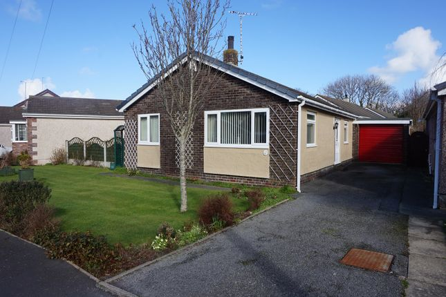Thumbnail Detached bungalow for sale in Garreglwyd Park, Holyhead