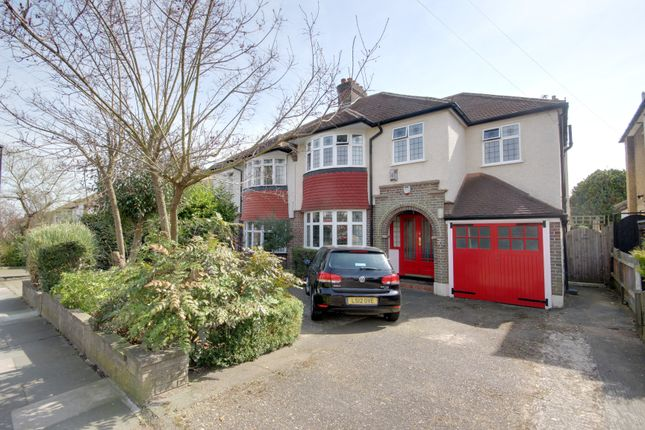 Thumbnail Semi-detached house for sale in Vicars Moor Lane, Winchmore Hill