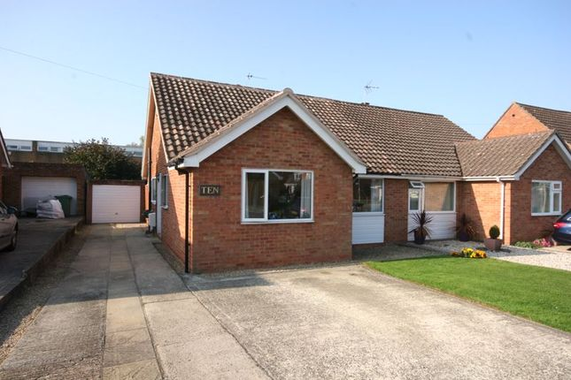Thumbnail Semi-detached bungalow for sale in Burleigh Croft, Hucclecote, Gloucester