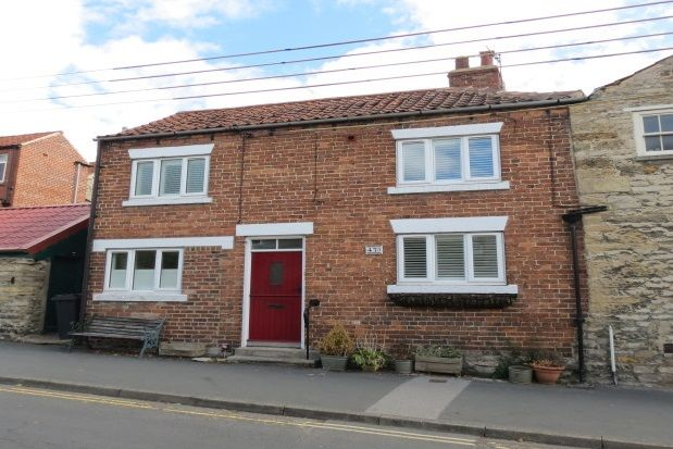 Thumbnail Cottage to rent in Potter Hill, Pickering