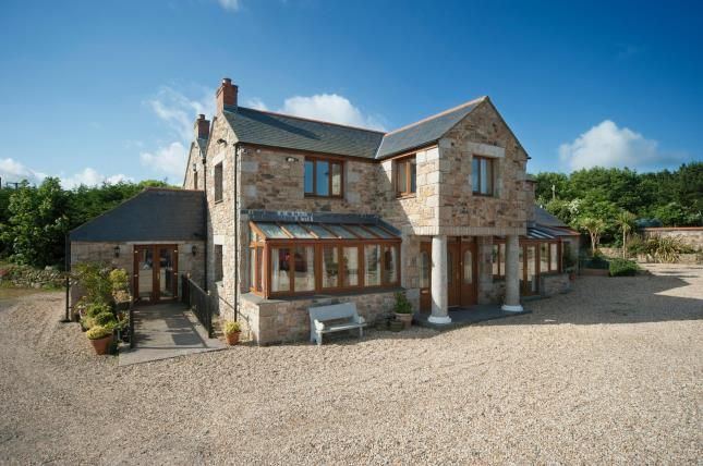 Thumbnail Detached house for sale in Scorrier, Redruth, Cornwall