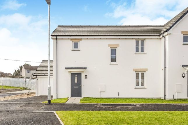 Thumbnail Semi-detached house for sale in Tehidin View, West Seaton, Camborne