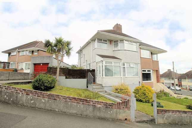 Thumbnail Semi-detached house for sale in Churchway, Weston Mill