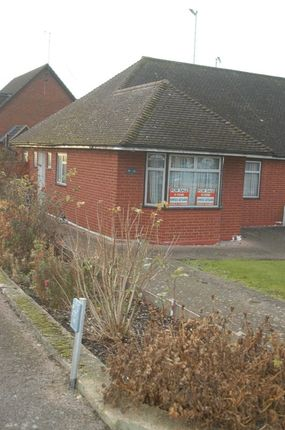 Thumbnail Semi-detached bungalow for sale in Oakwood Road, Bricket Wood, St.Albans