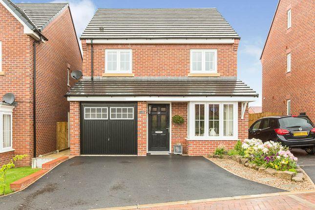 Thumbnail Detached house for sale in Joseph Johnson Road, Sandbach, Cheshire