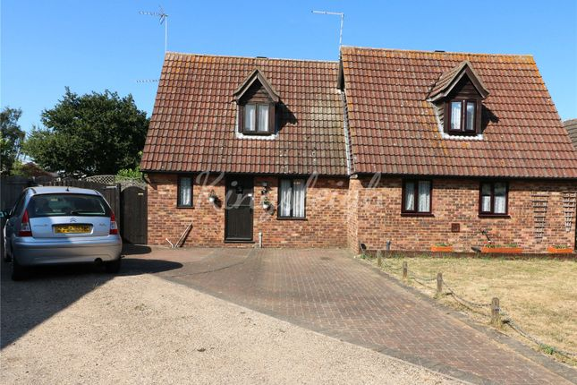 Thumbnail Semi-detached house for sale in Turner Avenue, Lawford, Manningtree, Essex