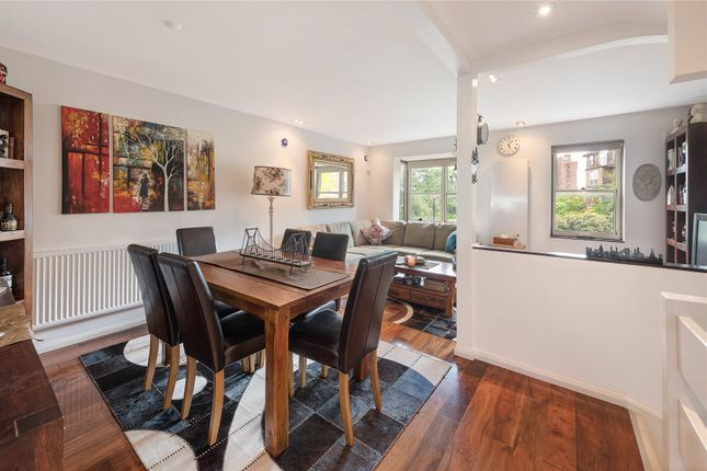 Dining Room of Whistlers Avenue, Battersea, London SW11