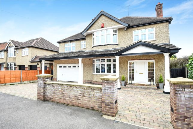 Thumbnail Detached house for sale in Cassiobury Drive, Watford, Hertfordshire