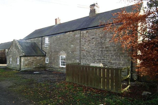 Thumbnail Farmhouse to rent in Newton Park, Morpeth