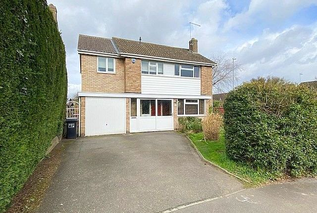 Thumbnail Detached house for sale in Berrywood Road, Duston, Northampton